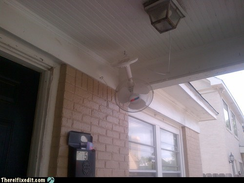 Ceiling fan: Accomplishe!