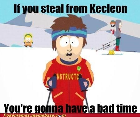 kecleon,kecleon store,mystery dungeon,Memes,super cool ski instructor