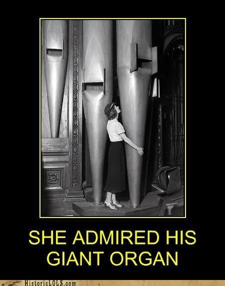 woman phallic giant wood pipe organ - 6982967552