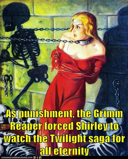Death grim reaper twilight punishment