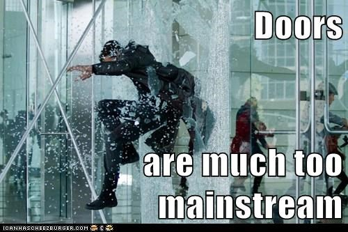 benedict cumberbatch,doors,hipster,Star Trek,mainstream,star trek into darkness,window,jumping