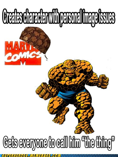 marvel,scumbags,The Thing