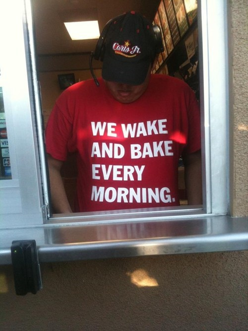 wake and bake rethink fast food carls jr - 6983449088