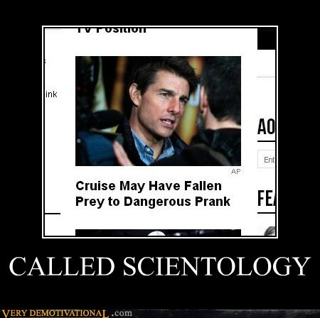 scientology,Tom Cruise,prank