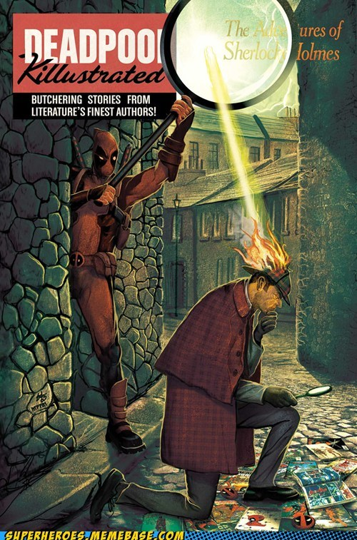 deadpool sherlock holmes classic literature - 6983545600