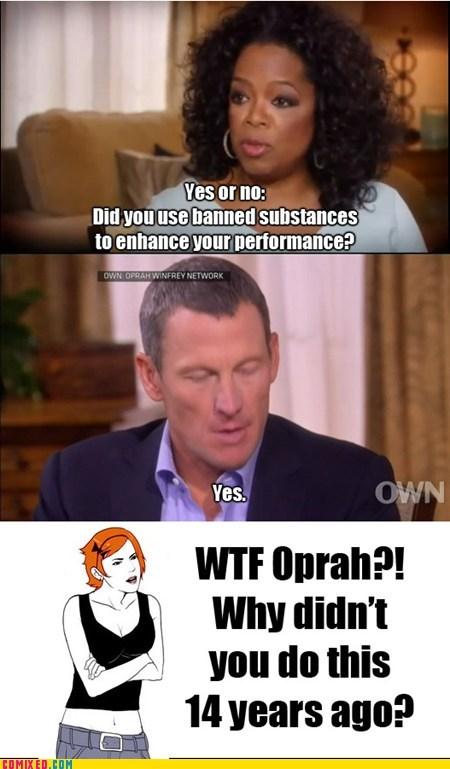 news Oprah Winfrey Lance Armstrong truth - 6983720704