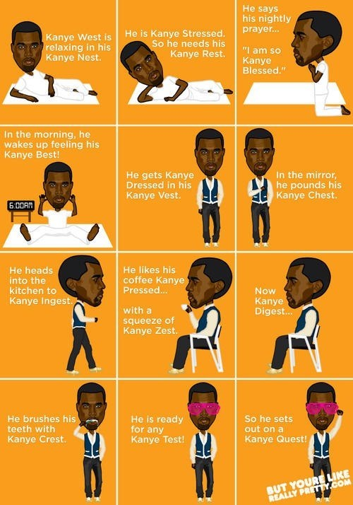 The Trials and Travails of Kanye West