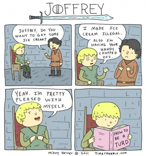 Game of Thrones,joffrey,Fan Art