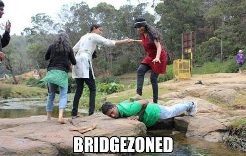 IRL bridge friend zone - 6983876608
