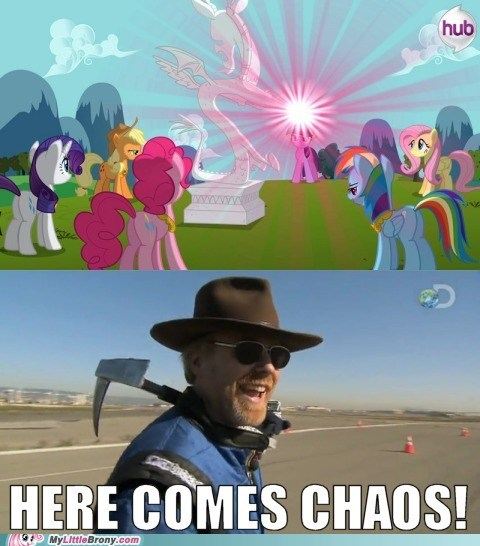chaos,discord,uh oh,mythbusters