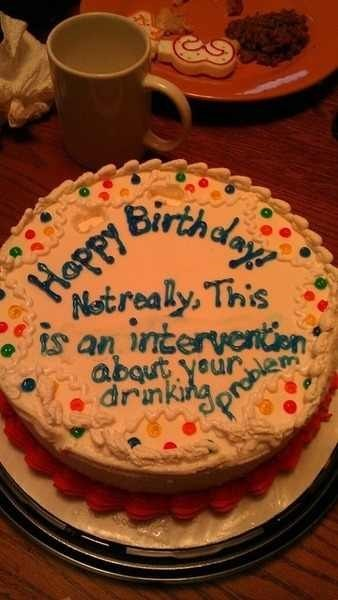 cake,intervention,surprise,happy birthday,drinking problem,after 12,g rated