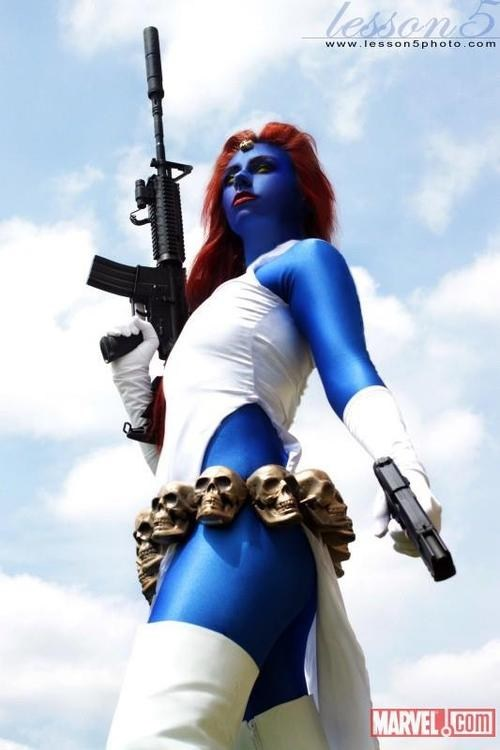 marvel,cosplay,mystique,x men,superheroes