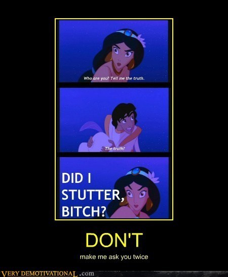 ask you twice,jasmine,aladdin