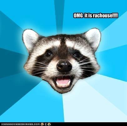 racoon Milhouse