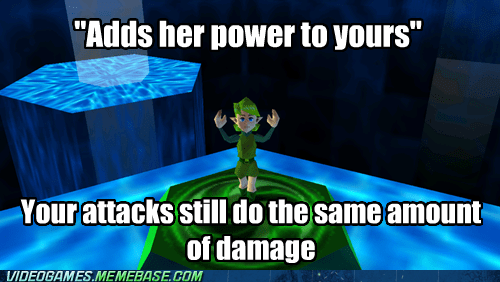 medallion,no more power,zelda