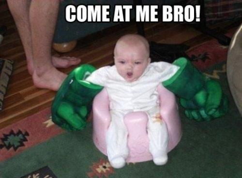 baby,toys,come at me bro,hulk