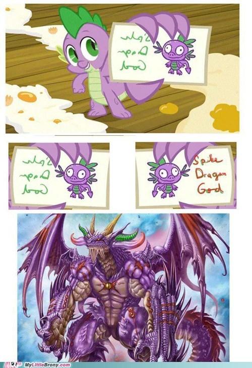 dragon spike god spike dragon god