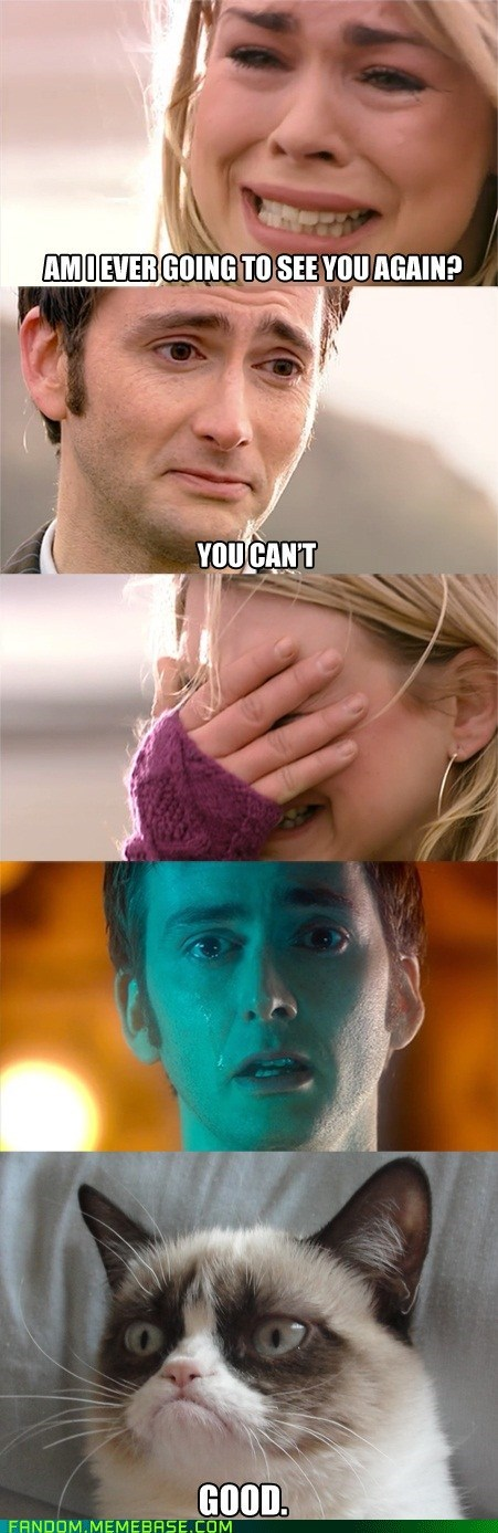 scifi doctor who Grumpy Cat - 6984469248