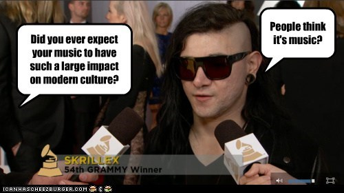 Music skrillex joking dubstep impact - 6984549120