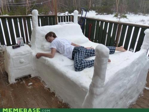 Canada bed snow - 6984915712