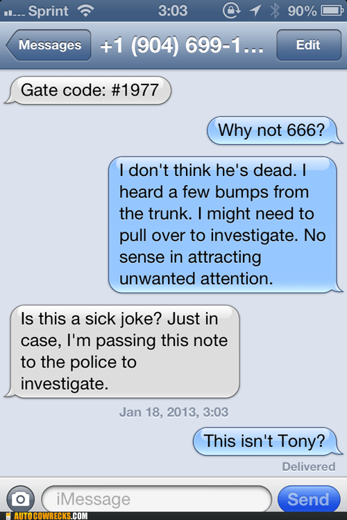 murder tony confusing iPhones not tony g rated AutocoWrecks - 6984921088