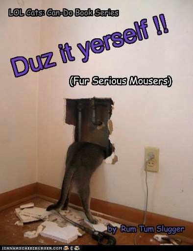 (Fur Serious Mousers) Duz it yerself !! LOL Cats: Can-Do Book Series by Rum Tum Slugger