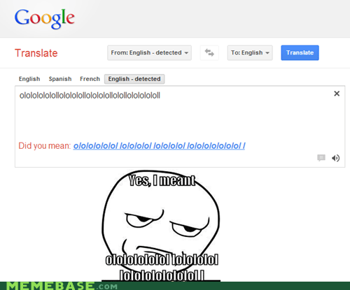 are you kidding me google translate ololol - 6985034240