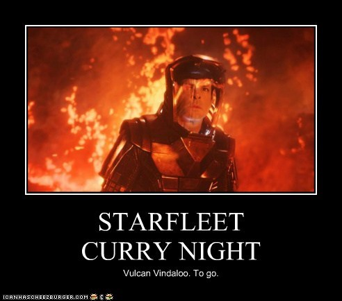 curry,starfleet,Spock,Zachary Quinto,Star Trek,star trek into darkness