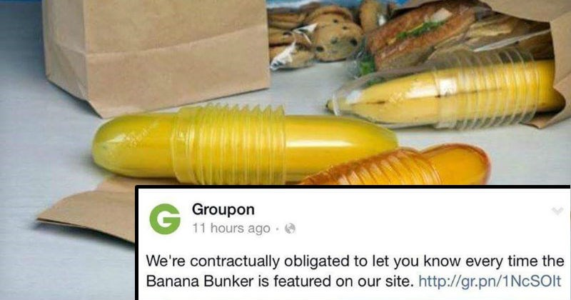 banana facebook groupon social media fruit - 6985477