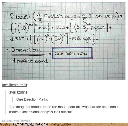 one direction,math,fangirl