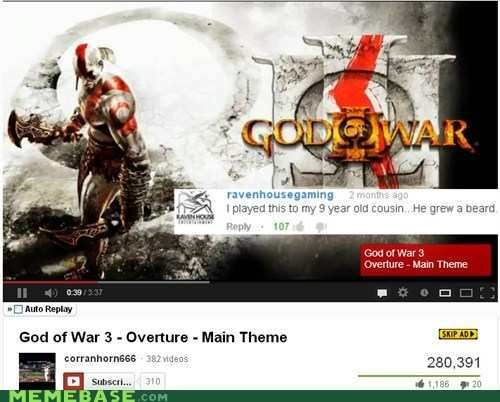 god of war comments beards - 6985705984