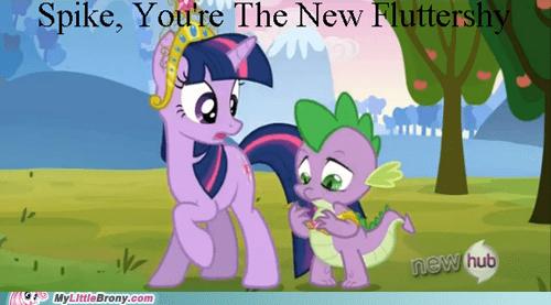 spike fill in pony fluttershy - 6985945088