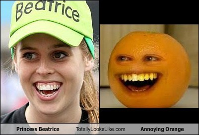 princess,TLL,annoying orange,UK,beatrice