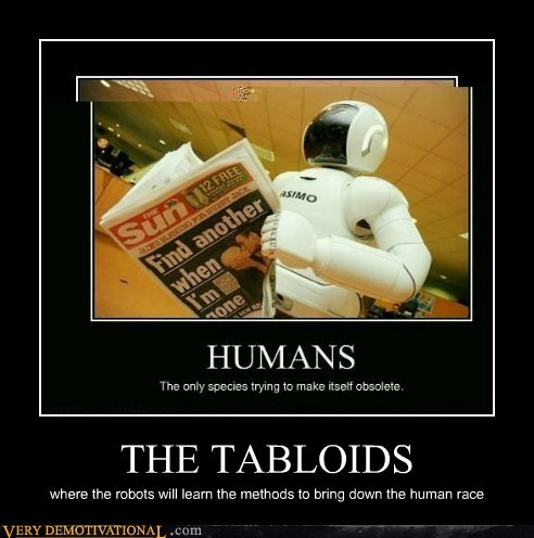 tabloid,singularity,human race,robots