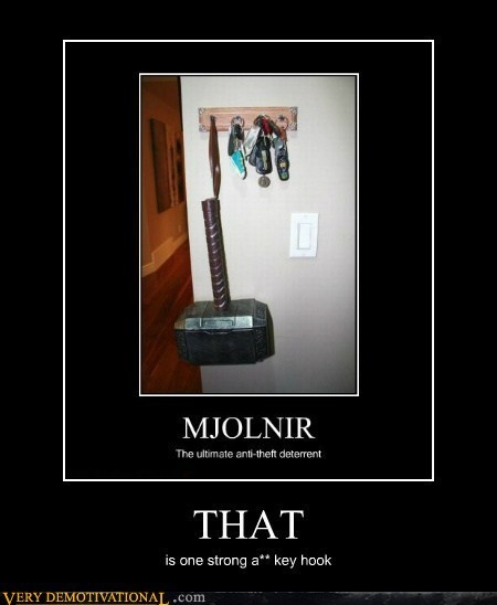 Thor,that,mjolnir,key hook