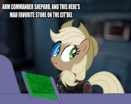 applejack mass effect appliejack - 6986098944