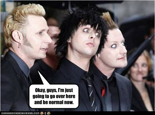 green day billy joe armstrong leaving mike dirnt normal tre cool - 6986367232