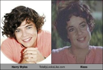 stockard channing one direction harry styles TLL rizzo grease - 6986543360