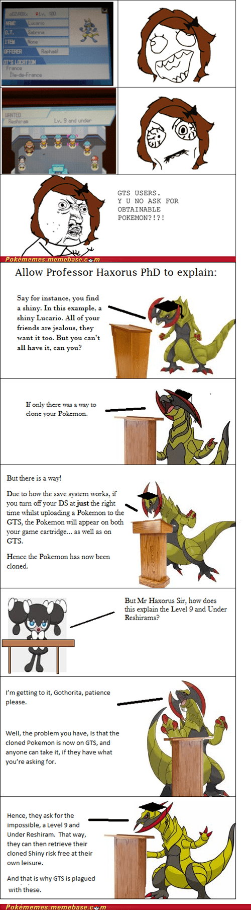 The More You Know,level 9 and under,professor haxorus,GTS