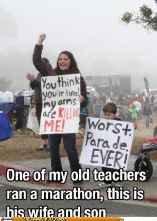 standing kids teacher marathon - 6987182080