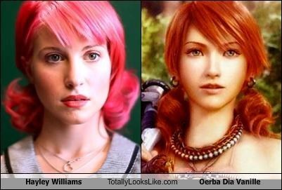 paramore tll,Hayley Williams,final fantasy,Oerba Dia Vanille