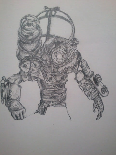 bioshock 2,Fan Art,video games