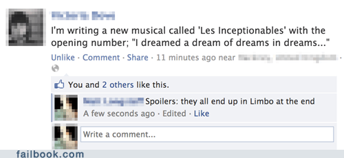 les mis Inception I dreamed a dream Les Misérables