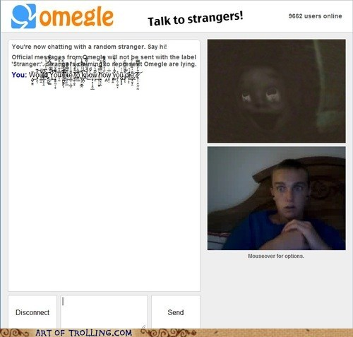 Omegle,zalgo,chat,nightmares