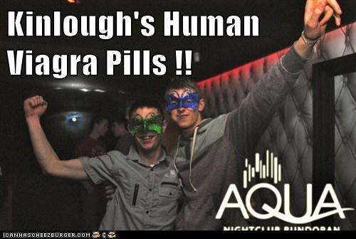 Kinlough's Human Viagra Pills !!