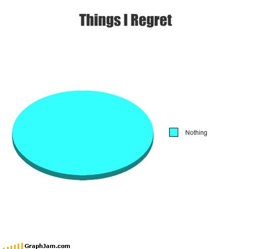 i regret nothing Pie Chart - 6988951808