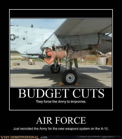 AIR FORCE Just recruited the Army for the new weapons system on the A-10.