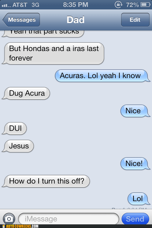 autocorrected make it stop iPhones acura - 6989740032