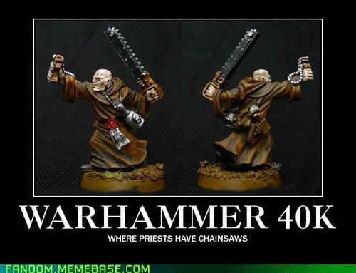 priest chainsaws warhammer warhammer 40k - 6989841664