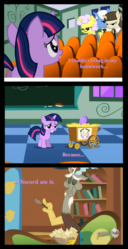 homework,discord,twilight sparkle,magic kindergarten